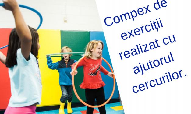 Dezvoltarea îndemânării – complex de exerciții.