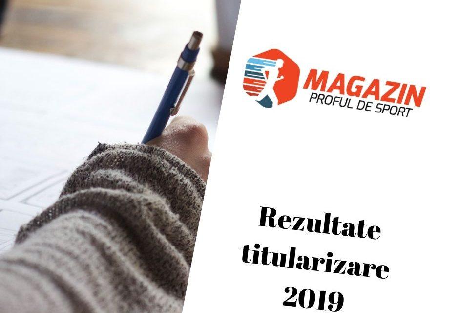 Rezultate titularizare 2019