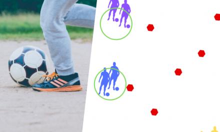 Conducerea mingii fotbal – Exercițiu fotbal cu progresie