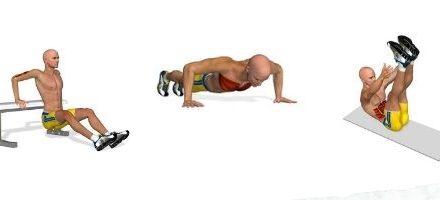 Exercitii fizice acasa, antrenament acasa
